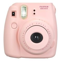 Fujifilm instax mini 8 Instant Film Camera Pink ($60) ❤ liked on Polyvore featuring accessories and fujifilm