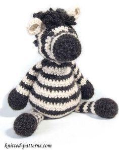 Zebra Toy - Free Crochet Pattern