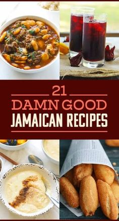 21 Classic Jamaican Dishes You've Probably Never Had Before - 21 Damn Good Jamaican Recipes That Aren't Jerk Chicken La mejor imagen sobre healthy eating para - Jamaican Cuisine, Jamaican Dishes, Jamaican Recipes, Jamaican Appetizers, Jamaican Drinks, Jamaican Desserts, Haitian Food Recipes, Indian Food Recipes, Ethnic Recipes