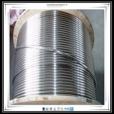 Factory price high quality stainless steel air conditioning coil tube/pipe 316L,304