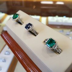 Hurry in for a stocking stuffer she'll treasure forever! We're here until 5:30 today! 💎🌲💎🌲💎 #schomburgs #jewelers #shoplocal #familybusiness #columbusga #shopsmall #finejewelry #jewelrygoals #sparkle #diamond #gold #emerald #sapphire #ring #bling #blue #green #merrychristmas #happyholidays #chooseitforlove #wishlist #yesplease