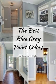 Grey Bathroom Paint, Grey Painted Kitchen, Gray Painted Walls, Kitchen Paint, Blue Gray Bedroom, Blue Grey Walls, Bluish Gray Paint, Neutral Paint, Bedroom Wall Colors