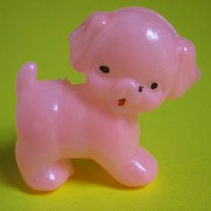 Items similar to Puppy Love: Vintage Pink Plastic Toy Puppydog on Etsy Pink Plastic, Vintage Pink, Puppy Love, Dinosaur Stuffed Animal, Puppies, Toys, Colors, Animals, Activity Toys