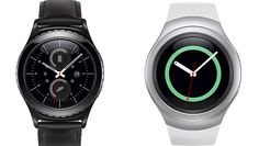 #felizmiercoles Samsung Gear S2 #smartwatch provides 2-3 day battery life & rotating bezel! More info on #TheGadgetShow #Wearables2015