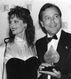 Lesley Ann Warren -awards Ruben Blades for an ACE Award for best Actor in a mini-series. Sherman Brothers, Latin Music, Best Actor, Walt Disney, Musicals, Dancer, Actresses, Actors, Ann