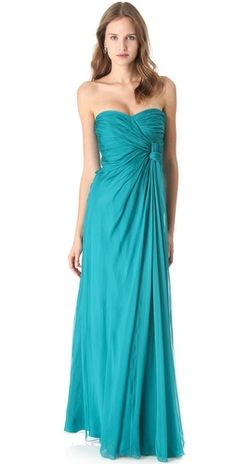 teal - my favorite color in the WHOLE world!  What a gorgeous gown