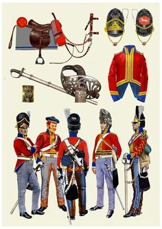 British Royal Scots greys 1815