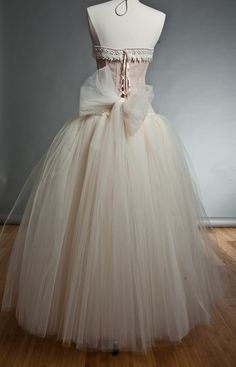 pretty pastel gown I cant afford!