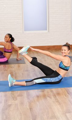 To get cut abs be prepared to go all out with a core-focused circuit filled with plank and roll-up variations that will leave your abs burning with this 10-minute workout.