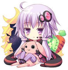 yukari vocaloid chibi - Google Search