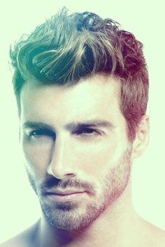 designer stubble beard style