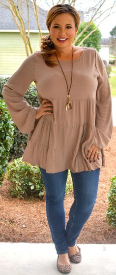 Perfectly Priscilla Boutique - Easy Like Saturday Top, $40.00 (http://www.perfectlypriscilla.com/easy-like-saturday-top/)