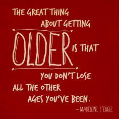 Getting Older - M. L'Engle