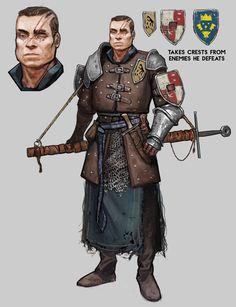 ArtStation - Disgraced Knight, Iain Matthiae