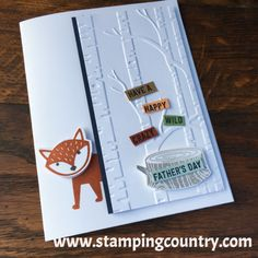 Foxy Friends Stampin' Up!