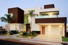 12 Fachadas de casas de diferentes estilos por Paulo Delmondes - escolha sua preferida! - DecorSalteado
