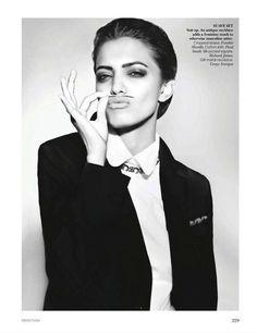 Jyothsna Chakravarthy in Vogue India, November 2011