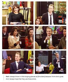 NPH on #HIMYM. Well, that's why Robin/Barney works so well. It's been being planted for years.