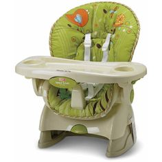 Fisher-Price Space Saver - Those of you with space issues who want a small chair with all the conveniences of a full-size product #babycenterknowsgear