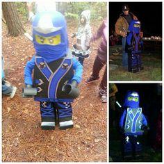 Ninjago Lego Costume. Costume Contest Winner 2013. #NinjagoTrent