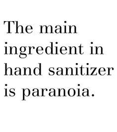 Makes sense... #paranoia