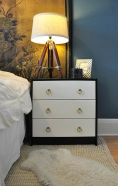 can I do this with an Ikea Rast dresser? | Copy Cat Chic | chic for cheap: Chic Chick Home Tour: Alexandra - Luisa Designs