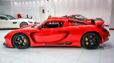 Wicked Red Gemballa Mirage Porsche Carrera GT Hits The Market | automotive99.com