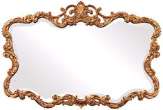 "Howard Elliott Collection 38"" Wide Talida Wall Mirror - #V6519 