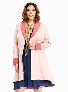 Plus Size Fantastic Beasts Queenie Coat,