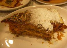 vegeintable: Christmas in Verona _ Back to Milan: Carrot Cake (Panini Durini)