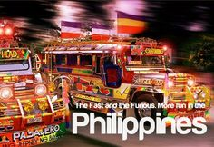 The Fast and the Furious. More fun in the Philippines. Jeepney, Vigan, The Furious, Swimming Holes, Philippines Travel, The Province, Island Beach, Pinoy, Filipino