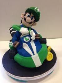 Luigi in cart