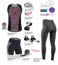 Goddess Fit and Trim Cycling Jersey for Women with high performance  features. Road Bike 9c2fe474c
