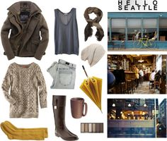 Wanna look like us Seattle hipsters? Here's an outfit that would look perfect!