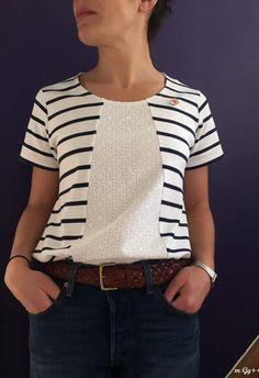 tuto blouse lila couturette