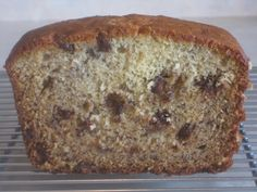 Banana Bread with Milk Chocolate Chips