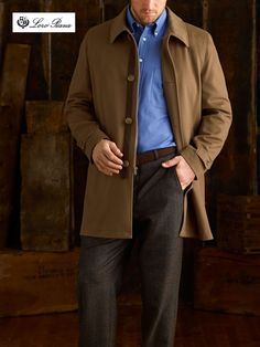 Car Coat by Tom JamesCamel Ready-Made Clothing Made Clothing, Ready To Wear, Raincoat, Menswear, Mens Fashion, Men's Style, Casual, How To Wear, Jackets