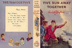 Miniature Printables - Five Run Away Together by Enid Blyton