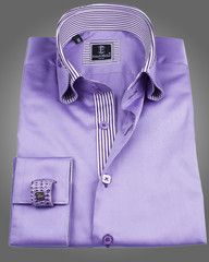 MEN'S LUXURY SHIRTS - REVERSO LAVENDER    Our Price - $149