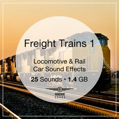 A collection of 25 freight train sound effects, including locomotive engine and freight car maneuvers. Locomotive Engine, Sound Library, Car Sounds, Rail Car, Libraries, Engineering, Collection, Library Room