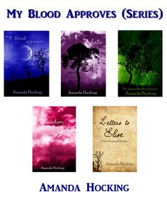 My Blood Approves Series by Amanda Hocking - If you enjoy books rooted in the supernatural, read EVERYTHING  you can find by Amanda Hocking - she is a solid writer, and is finding major success in E-publishing. I have read everything I can find that she has done and was not disaappointed!