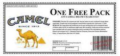Printable Cigarette Coupons 2016: Free Camel Cigarette ...