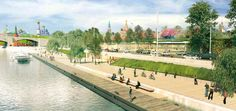 Competition for Zaryadye Park, Moscow: 2nd Prize: Topos