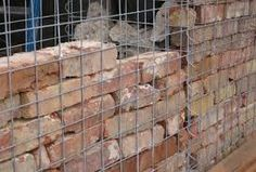 Image result for gabion and timber fences