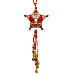 ThreadABead Santa Shooting Star Ornament