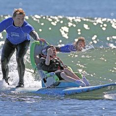 Cliff Bar has a Best Day Foundation~~Doheny State Beach, Dana Point, CA. Can you feel the stoke at Doheny State Beach with Best Day Foundation? This is an amazing thing to do, to give someone a chance to experience something extraordinary.