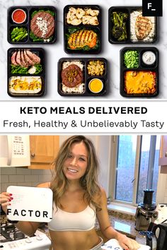 Lunch Meal Prep, Healthy Meal Prep, Healthy Snacks, Healthy Eating, Lunch Recipes, Diet Recipes, Healthy Recipes, Recipies, Keto Meal Plan