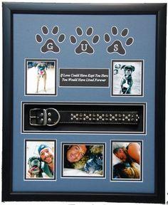 Pet Memorial Shadow Box Display Cases | MilitaryMemoriesAndMore.com