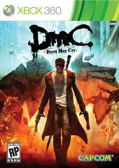 Today Capcom had a few pieces of information to reveal for their upcoming game, DmC Devil May Cry. The most obvious of these reveals is the fact that they have revealed the final box art of the game which can be seen to the right.