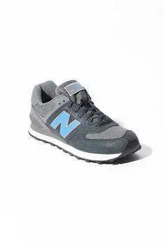 New Balance 574 Sweatshirt Dark Grey Sneakers | South Moon Under